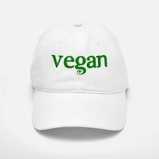 Simple Vegan Baseball Baseball Cap