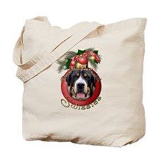 Christmas - Deck the Halls - Swissies Tote Bag