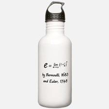 e by Bernoulli and Euler Water Bottle
