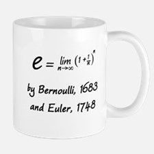 e by Bernoulli and Euler Mug