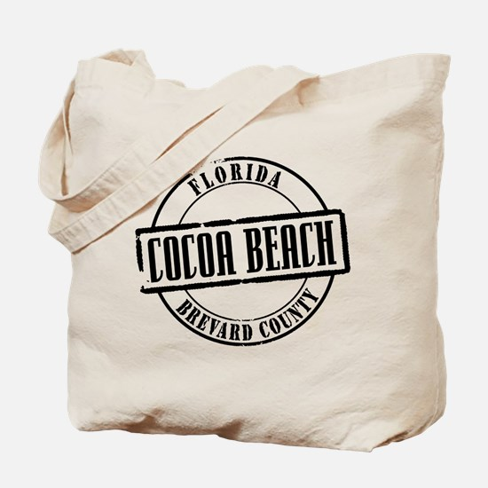 Cocoa Beach Title Tote Bag