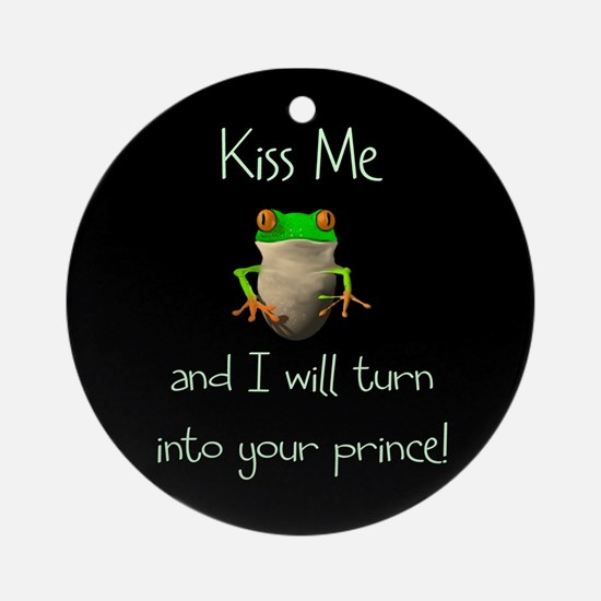 Prince Frog Ornament (Round)