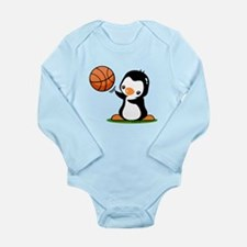 Cute Penguins Long Sleeve Infant Bodysuit