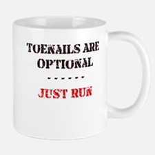 Funny Toenails optional Mug