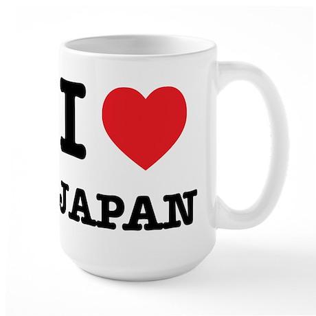I Heart Japan Large Mug