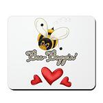 Funny Bumble Bee Mousepad