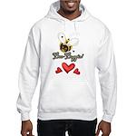 Funny Bumble Bee Hooded Sweatshirt