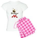 Funny Bumble Bee Women's Light Pajamas