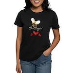 Funny Bumble Bee Women's Dark T-Shirt