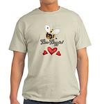 Funny Bumble Bee Light T-Shirt