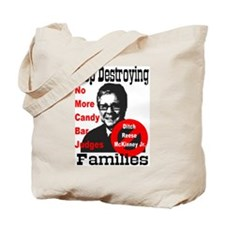 Stop Destroying Families Tote Bag