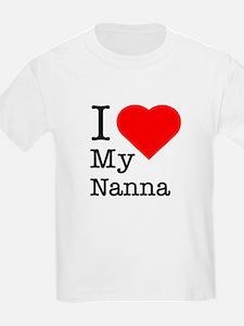 I Love My Nanna T-Shirt
