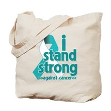 Stand Strong Cervical Cancer Tote Bag