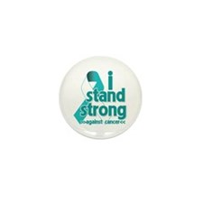 Stand Strong Cervical Cancer Mini Button (10 pack)