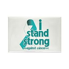 Stand Strong Cervical Cancer Rectangle Magnet