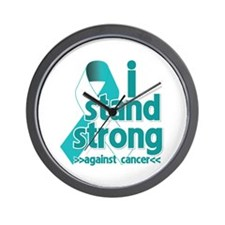 Stand Strong Cervical Cancer Wall Clock