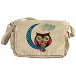 My Crescent Owl Messenger Bag