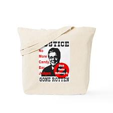 Justice Gone Rotten Tote Bag