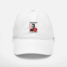 Corrupt To The Core Baseball Baseball Cap