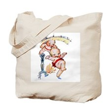 Kewpies Come Down the Chimney Tote Bag