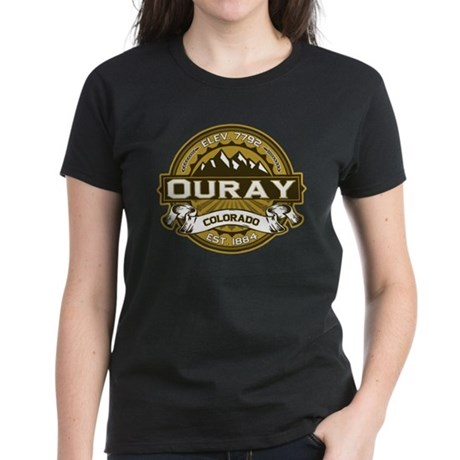 Ouray Tan Women's Dark T-Shirt
