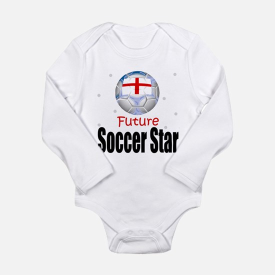 Future Soccer Star England Baby Body Suit