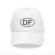 DF - Initial Oval Baseball Cap