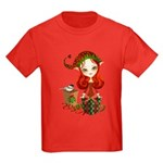 Jollybelle Christmas Elf Kids Dark T-Shirt