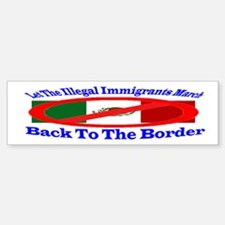 Let them march Bumper Bumper Bumper Sticker