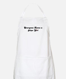 Loves Napa Girl BBQ Apron