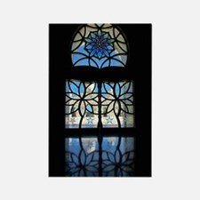 Mosque Foyer Window Rectangle Magnet