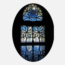 Mosque Foyer Window Ornament (Oval)