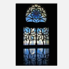 Mosque Foyer Window Postcards (Package of 8)
