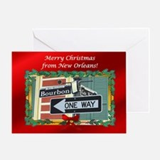 NewOrleans Christmas Greeting Card
