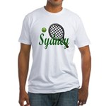 Sydney(2) Fitted T-Shirt