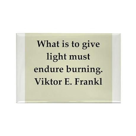Viktor Frankl quote Rectangle Magnet (100 pack)