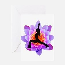 Lotus Yogini Greeting Cards