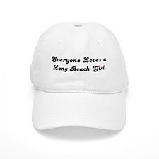 Loves Long Beach Girl Baseball Cap