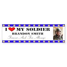 Custom Bumper Sticker - Brandon Smith