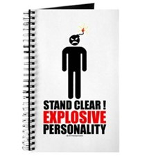 Stand clear! explosive person Journal