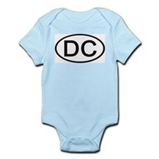 DC - Initial Oval Infant Creeper