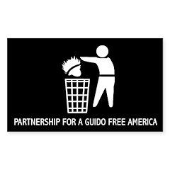 Guido Free America Bumper