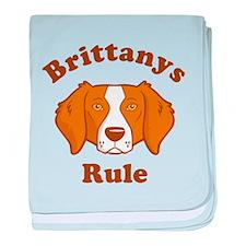 Brittanys Rule baby blanket