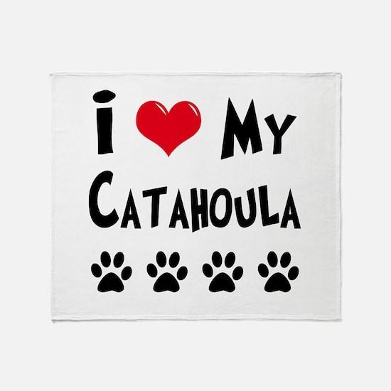 Catahoula Throw Blanket