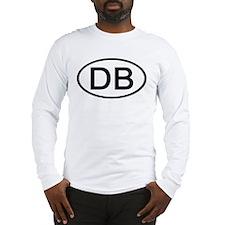 DB - Initial Oval Long Sleeve T-Shirt
