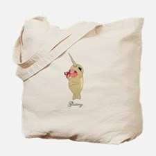 Gluttony Narwhal Tote Bag