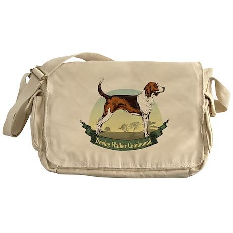 Treeing Walker Coonhound: Ban Messenger Bag