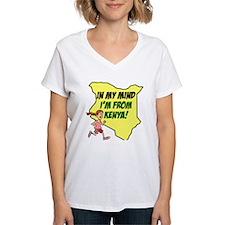 From Kenya Woman Shirt