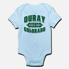 Ouray Since 1884 Green Infant Bodysuit