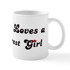 Loves Lake Forest Girl Mug